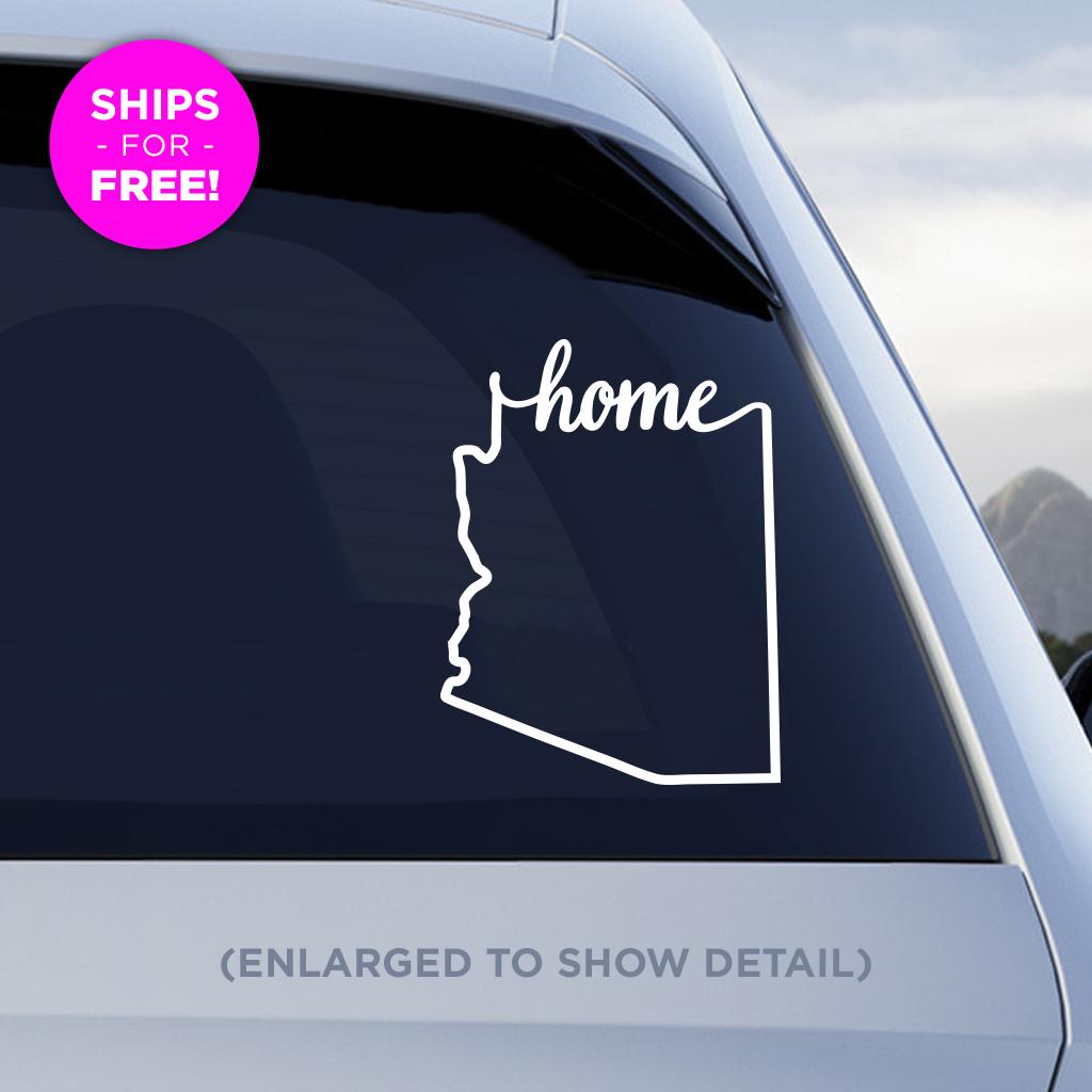 Arizona Home Decal