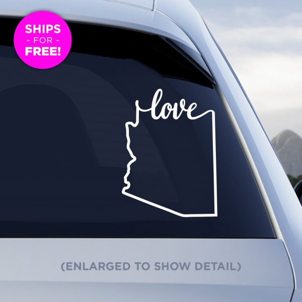 Arizona Love Vinyl Decal